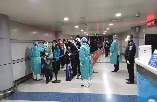 太原機場11處體溫監測點覆蓋所有人