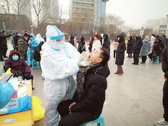 晉中市榆次區已完成296540人份核酸檢測 均為陰性