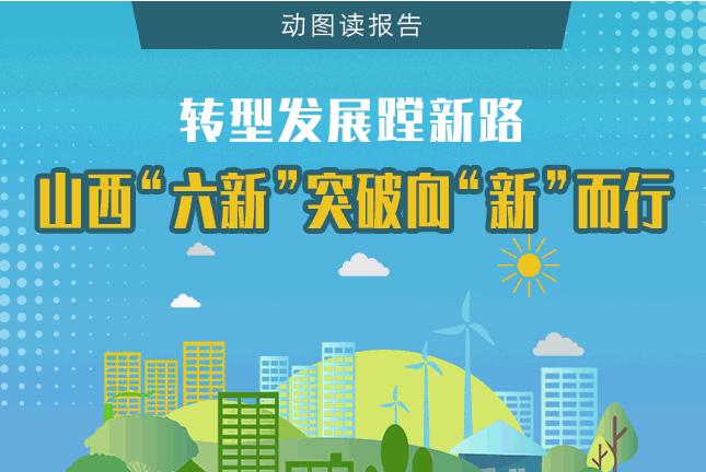 """【動圖讀報告】轉型發展蹚新路,山西""""六新""""突破向""""新""""而行"""
