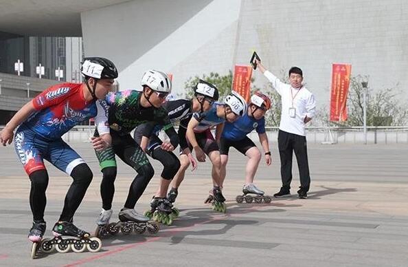 十四屆全運會群眾賽事活動山西輪滑選拔賽舉行