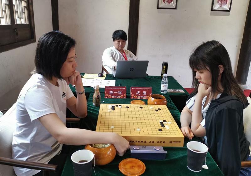 中國女子圍棋甲級聯賽山西斬獲首勝
