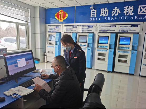 """大同經開區稅務局:""""稅力量""""為企業發展""""加把勁"""""""