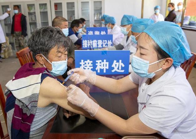 入村入戶打疫苗