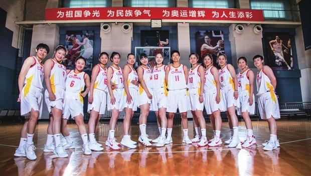 山西女籃隊長武桐桐入選中國女籃奧運會陣容
