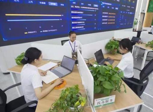 """山西省首例為企業""""全代辦""""服務亮相綜改區"""