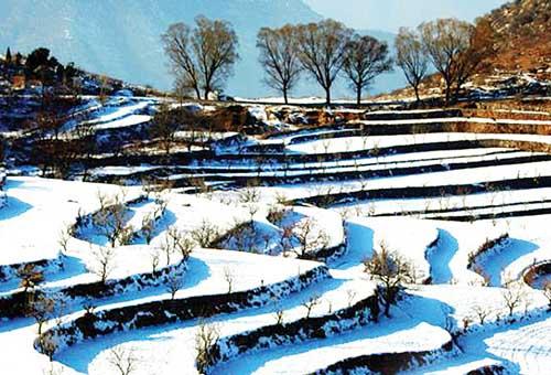晉城:橫河雪景